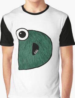 Monster Letter D Graphic T-Shirt