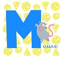 m for mouse Photographic Print
