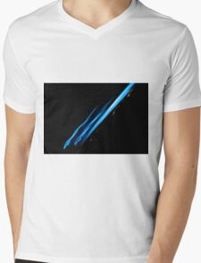 Lightpainting Single Wall Art Print Photograph 15 Mens V-Neck T-Shirt