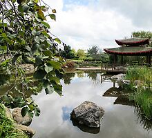 the pagoda by Anne Scantlebury