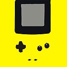 Yellow Gameboy Colour iPhone Case by Jake Driscoll