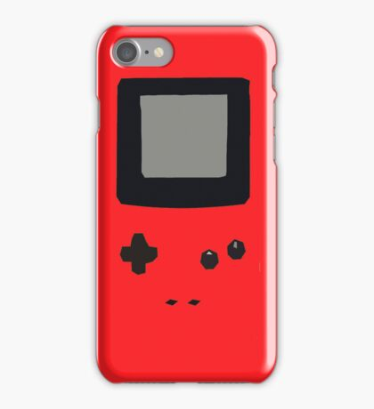 Red Gameboy Colour iPhone Case iPhone Case/Skin