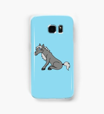 Gray Horse Samsung Galaxy Case/Skin