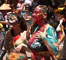 Taos Hippie Parade all Dressed Up by doorfrontphotos