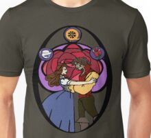Rumbelle (Stained Glass) Unisex T-Shirt