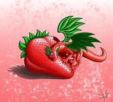 Strawberry Dragon by DragonTiger