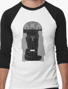 The Address is 221B Baker St Men's Baseball ¾ T-Shirt