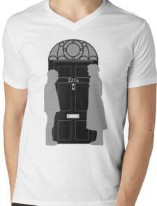 The Address is 221B Baker St Mens V-Neck T-Shirt