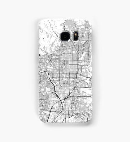 Kyoto Map Gray Samsung Galaxy Case/Skin