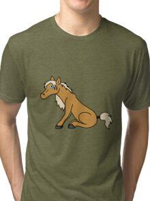 Palomino Horse Tri-blend T-Shirt