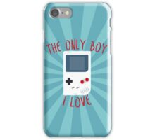 The only boy I LOVE! iPhone Case/Skin