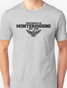Universita di Monteriggioni (Black) T-Shirt