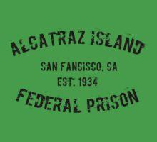 Prisoner of Alcatraz Kids Clothes