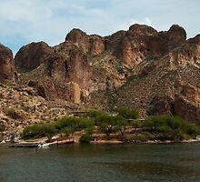 Canyon Lake Apache Trail AZ  by John  Kapusta