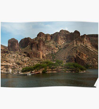 Canyon Lake Apache Trail AZ  Poster
