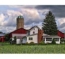 Farm house Photographic Print