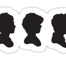 One Direction Silhouettes Sticker