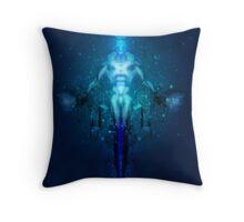 Transhuman Ascension Throw Pillow