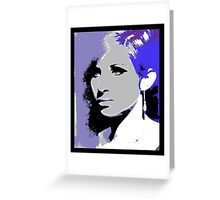STREISAND Greeting Card