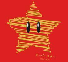 starman -scribble- Kids Tee