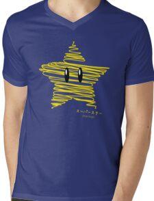 starman -scribble- Mens V-Neck T-Shirt