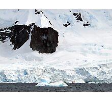 Enormous scale , Antarctica Photographic Print