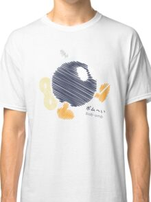 bob-omb -scribble- Classic T-Shirt