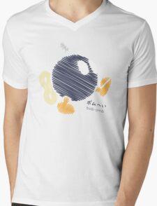 bob-omb -scribble- Mens V-Neck T-Shirt
