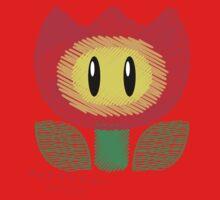 fire flower -scribble- Baby Tee