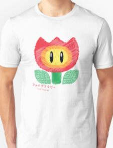 fire flower -scribble- Unisex T-Shirt