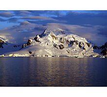 Lenticular Clouds, Antarctica Photographic Print