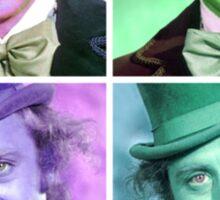 Willy Wonka Warhol Sticker