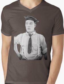 oh buster .  Mens V-Neck T-Shirt