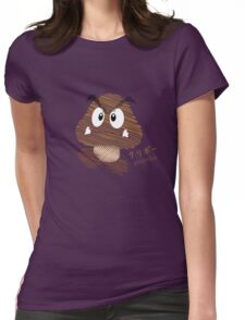 goomba -scribble- Womens Fitted T-Shirt