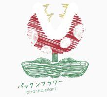 piranha plant -scribble- by Steve Landaverde