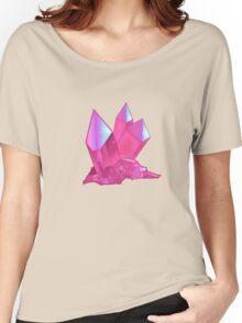 Pink Aura Quartz Women's Relaxed Fit T-Shirt