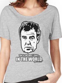 Jeremy Clarkson - IN THE WORLD. Women's Relaxed Fit T-Shirt