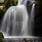 Waterfall at Lumsdale by John Dunbar