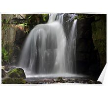 Waterfall at Lumsdale Poster