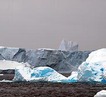 Icebergs,  Antarctica by geophotographic