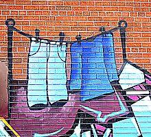Graffiti Washing by PPPhotoArt