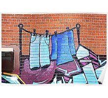 Graffiti Washing Poster