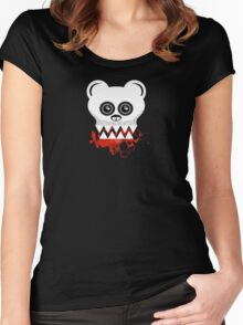 BEAR SKULL Women's Fitted Scoop T-Shirt