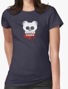 BEAR SKULL Womens Fitted T-Shirt