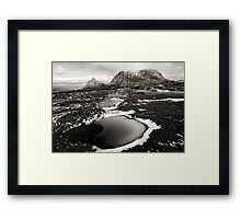 Cradle High Framed Print