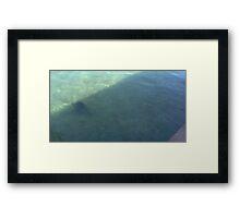 Shadows Reflection Digital Photo By Cheyene Montana Lopez Framed Print