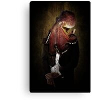 From Even The Greatest Of Horrors Irony Is Seldom Absent Canvas Print