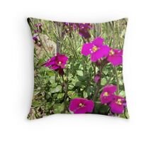 April 2012 Throw Pillow