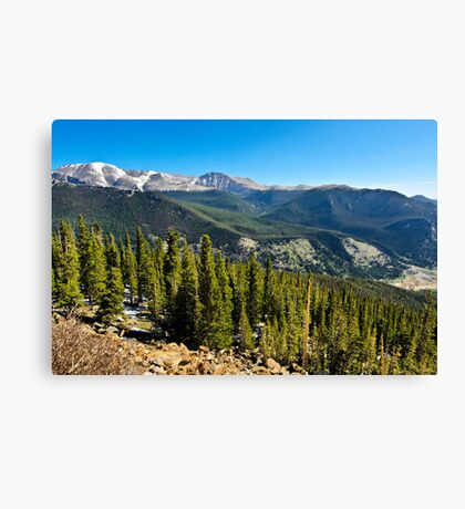 Rocky Mountain National Park (2) Canvas Print