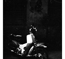 wait in the alley Photographic Print
